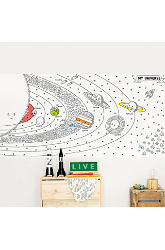 Wallstickers My Universe Sort