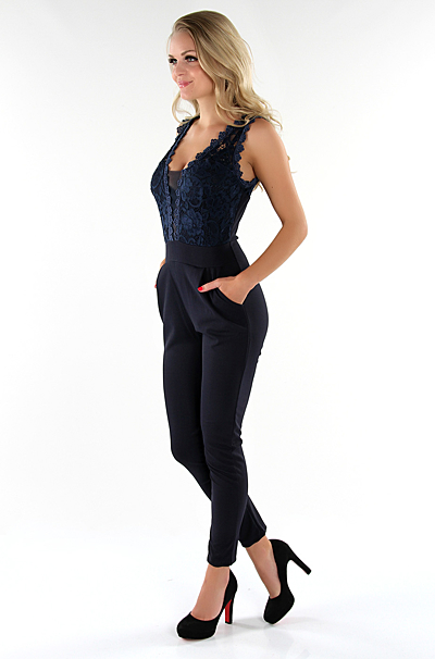 Betsy Jumpsuit Navy