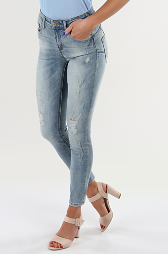 Vicommit Jeans Light blue denim