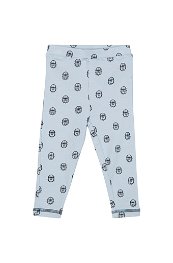 Bulldog Leggings Lyseblå