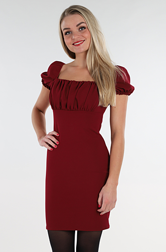 Amanda Bodycon Kjole Wine