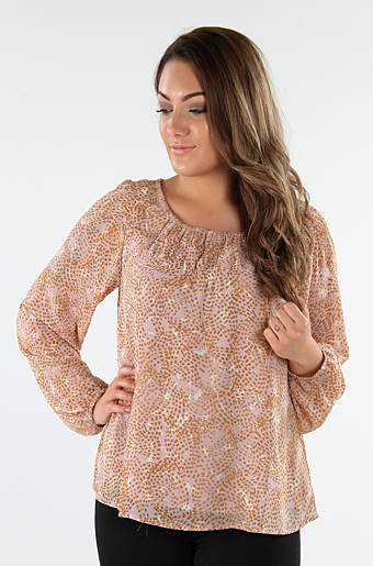 Vinema Bluse Adobe rose