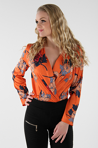 Folina Bodysuit Orange