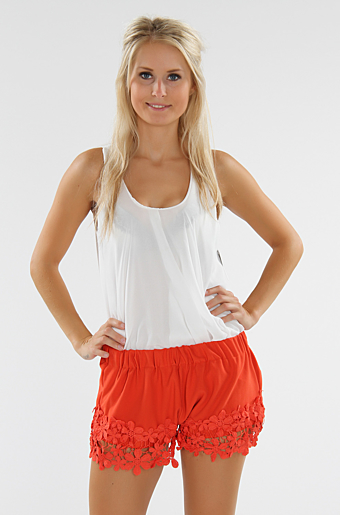Saman Blonde Shorts Koral