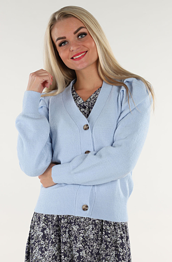 Ally Cardigan Cashmere Blue