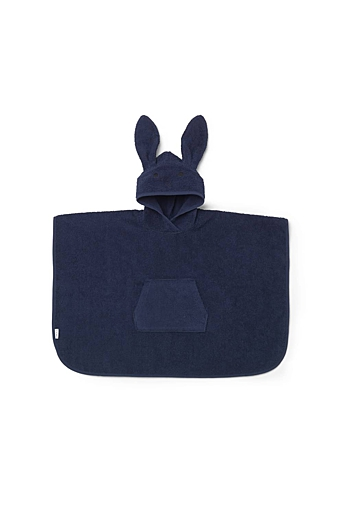 Orlo Poncho Rabbit Navy