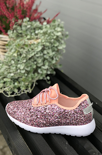 Brithny Glimmer sneakers Pink
