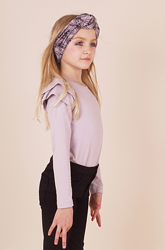 Wingsleeve Bluse Dusty purple
