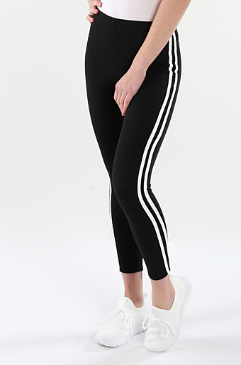 Stripe Leggings Sort