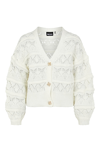 Jossi Strik Cardigan Cloud dancer
