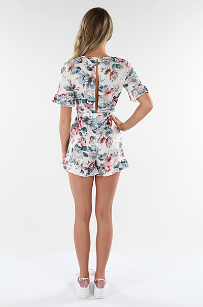 Elda Playsuit Creme