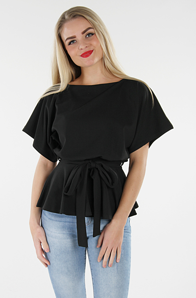Harlow Peplum Top Sort