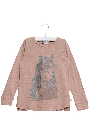 Horse Bluse Fawn