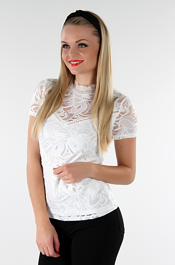 Vistasia Blonde Top Cloud dancer