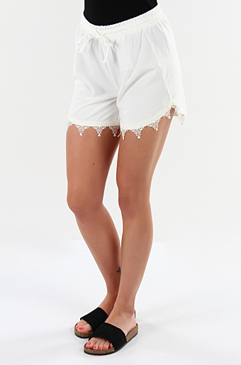 Viboudoiri Shorts Cloud dancer
