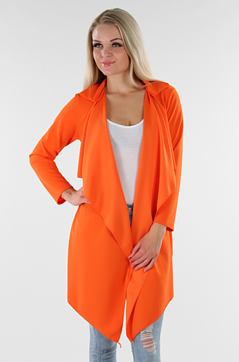 Frannie Cardigan Orange