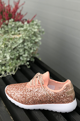 Brithny Glimmer sneakers Champagne