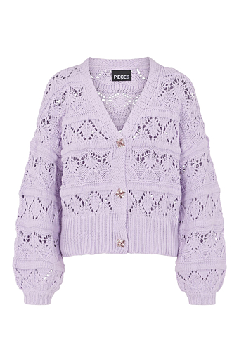 Jossi Strik Cardigan Orchid Bloom