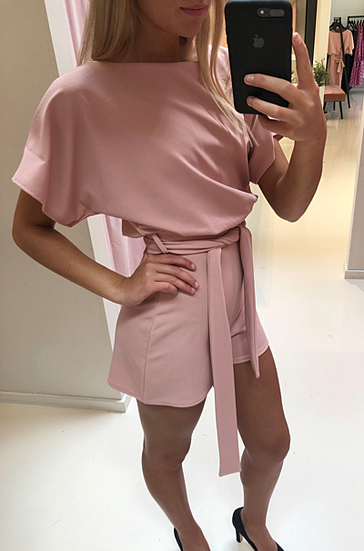 Valentina Playsuit Rose