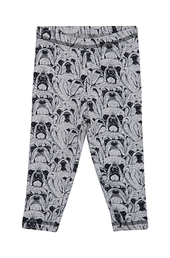 Bulldog Leggings Grå