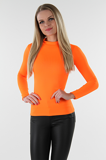 Emmelie Bluse Neon Orange