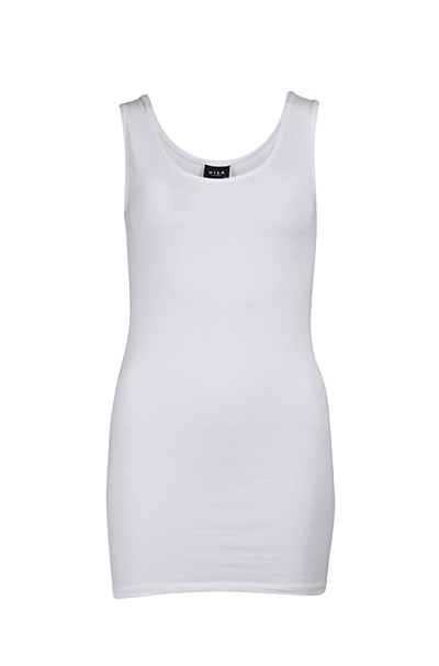 Viofficiel Lang Tank Top Optical Snow