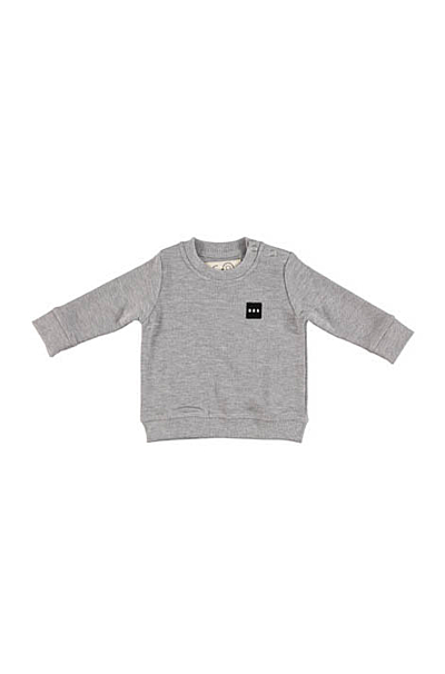 McEnroe Baby sweat Melange Grey