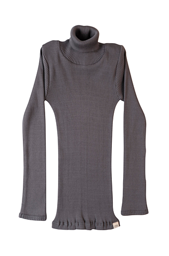 Bui Turtleneck Bluse Dark grey
