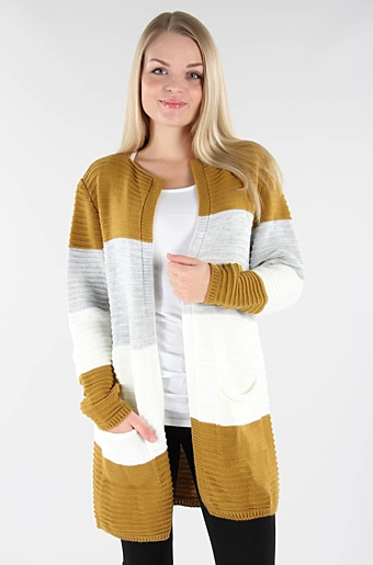 Alissa Cardigan Curry/Grå
