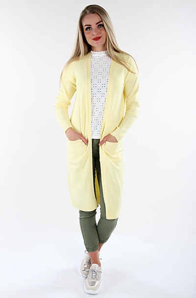 Viril Cardigan Mellow Yellow