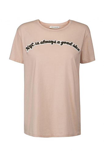 NYC T-shirt Cameo rose