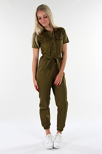 Utilly Jumpsuit Army
