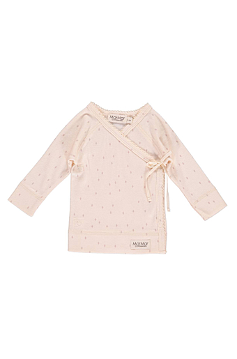 Rhombus New Born Tut Wrap Bluse Faded Rose