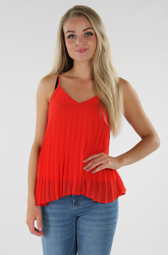 Vinaddi Top Flame Scarlet