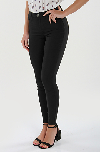 Pcskin Jeggings Sort